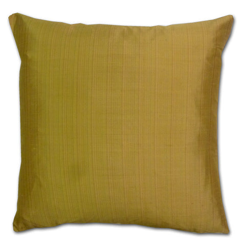 Strie Silk Gold Large Cushion (50x50cm)