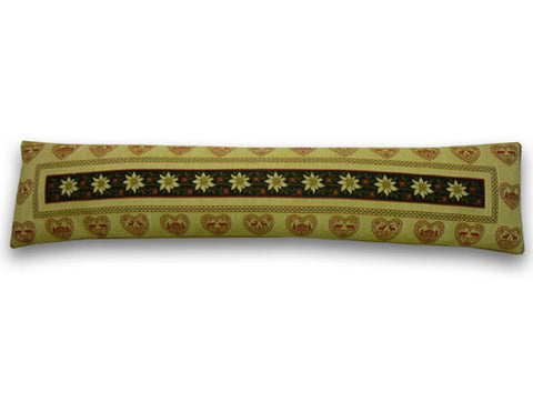 Edelweiss Tapestry Draught Excluder (90x20cm)