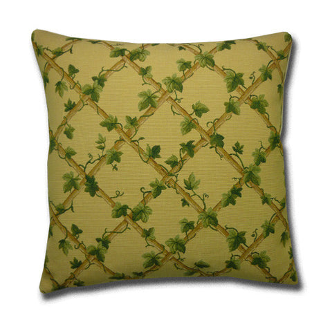 Ivy Trellis Tapestry Cushion
