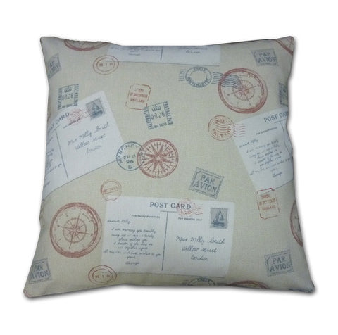 Post Cards Cushion (43x43cm)