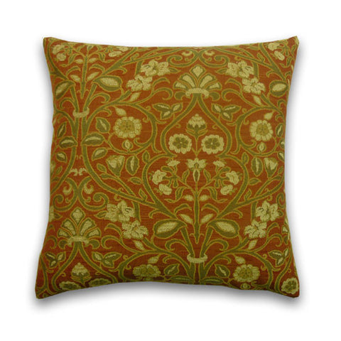 Abbey Cushion, Gold / Terra (43x43cm)