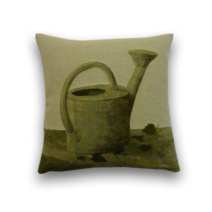 Watering Can Small Tapestry Cushion (34x34cm)