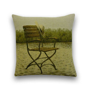 Garden Chair Tapestry Cushion (34x34cm)