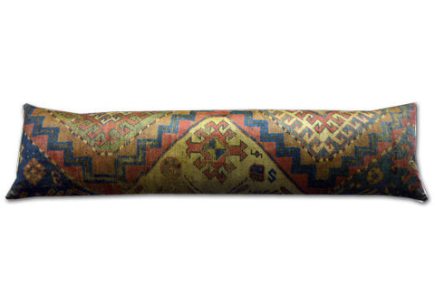 Velvet Kilim Design Draught Excluder (90x20cm)