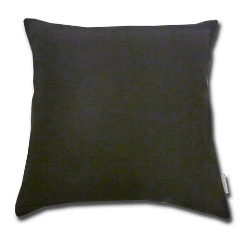 Black Linen Cushion (50x50cm)