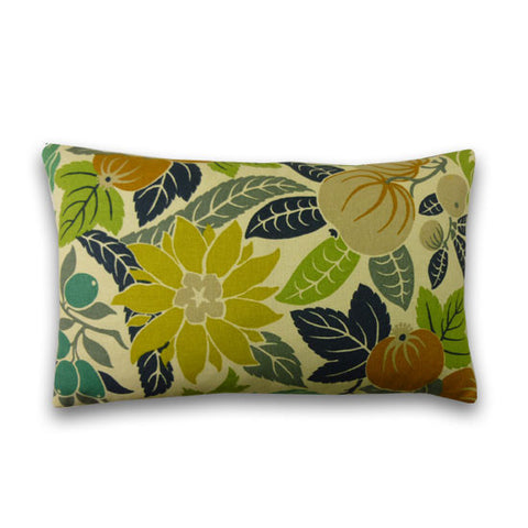 Fruits Print Cushion (50x30cm)