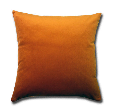 Cotton Velvet Pumpkin Cushion (43x43cm)