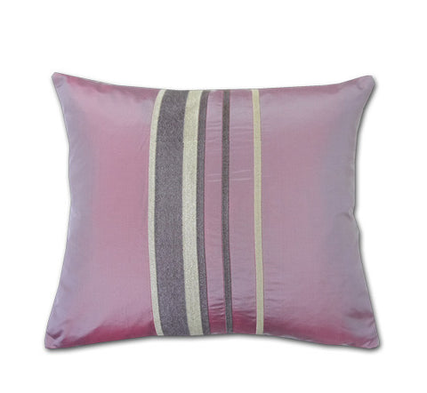 Trellick Blush Pink Silk Cushion (40x34cm)