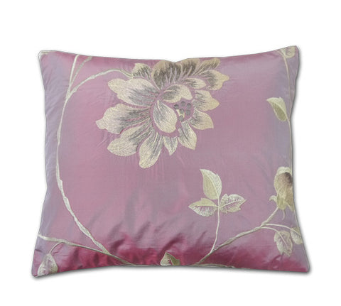 Portobello Blush Pink Silk Cushion (40x34cm)