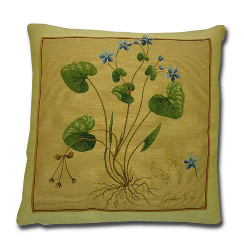 Violets Tapestry Cushion (44x44cm)