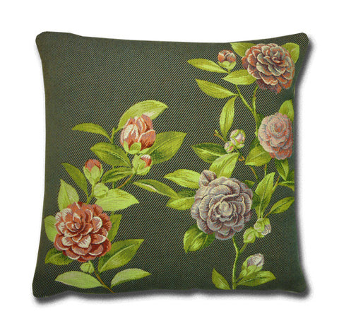 Camelia Tapestry Cushion (44x44cm)