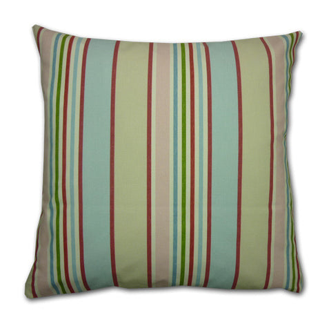 Vintage Stripe Pastel Cushion (43x43cm) WAS £13