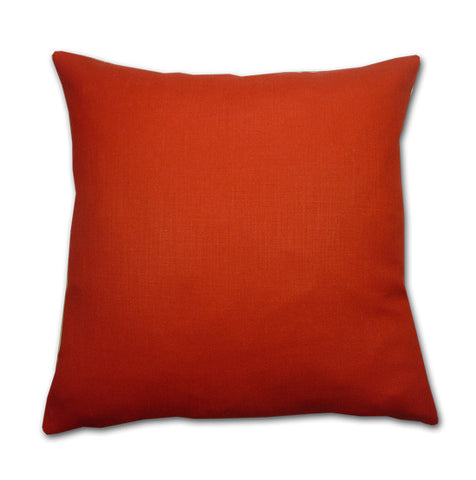 Sherborne Poppy Red Cushion