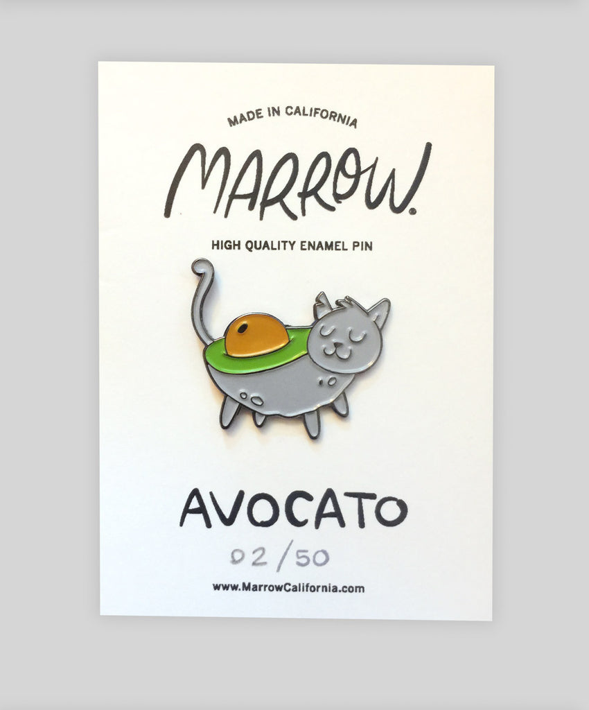 Avocato Pin Grey - Marrow - Marrow California
