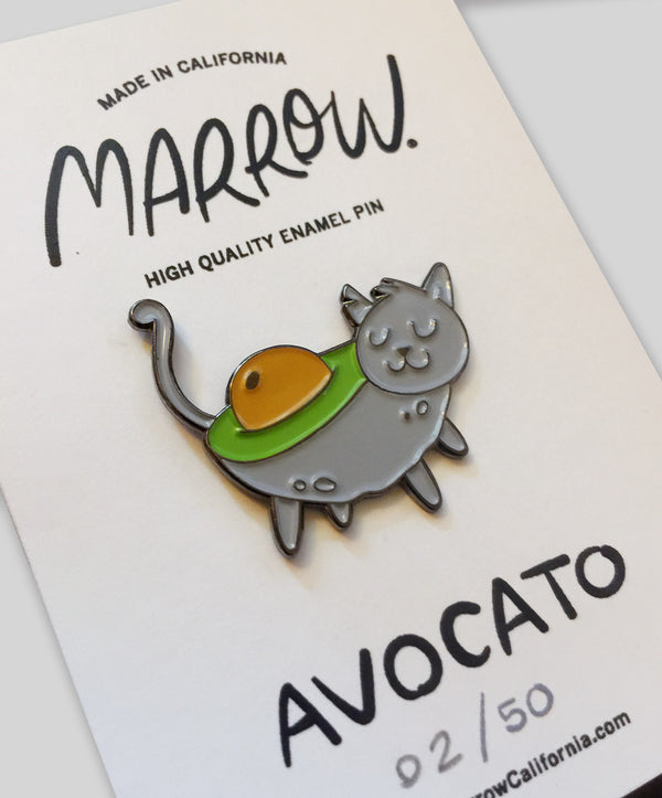 Avocato Pin Grey
