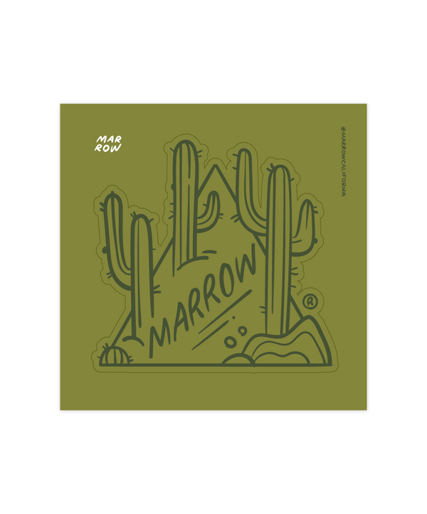 Cactus Land kiss cut sticker
