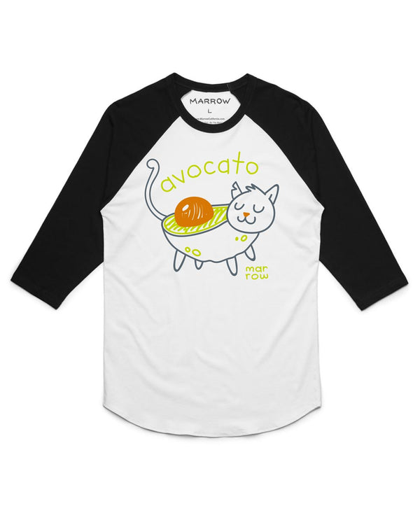 Women's Avocato Baseball Tee