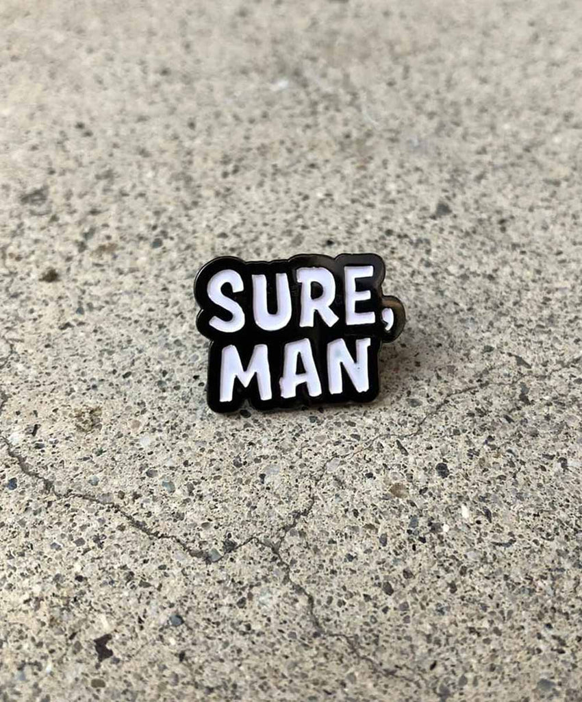 Sure, Man Pin