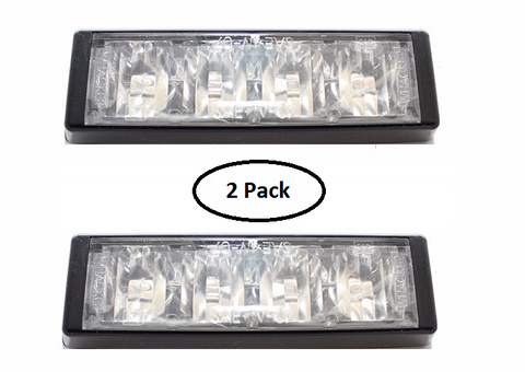 WHACKER - TRAFFIC CLEANER 4 - 1 PAIR - AMBER - Lightbar City