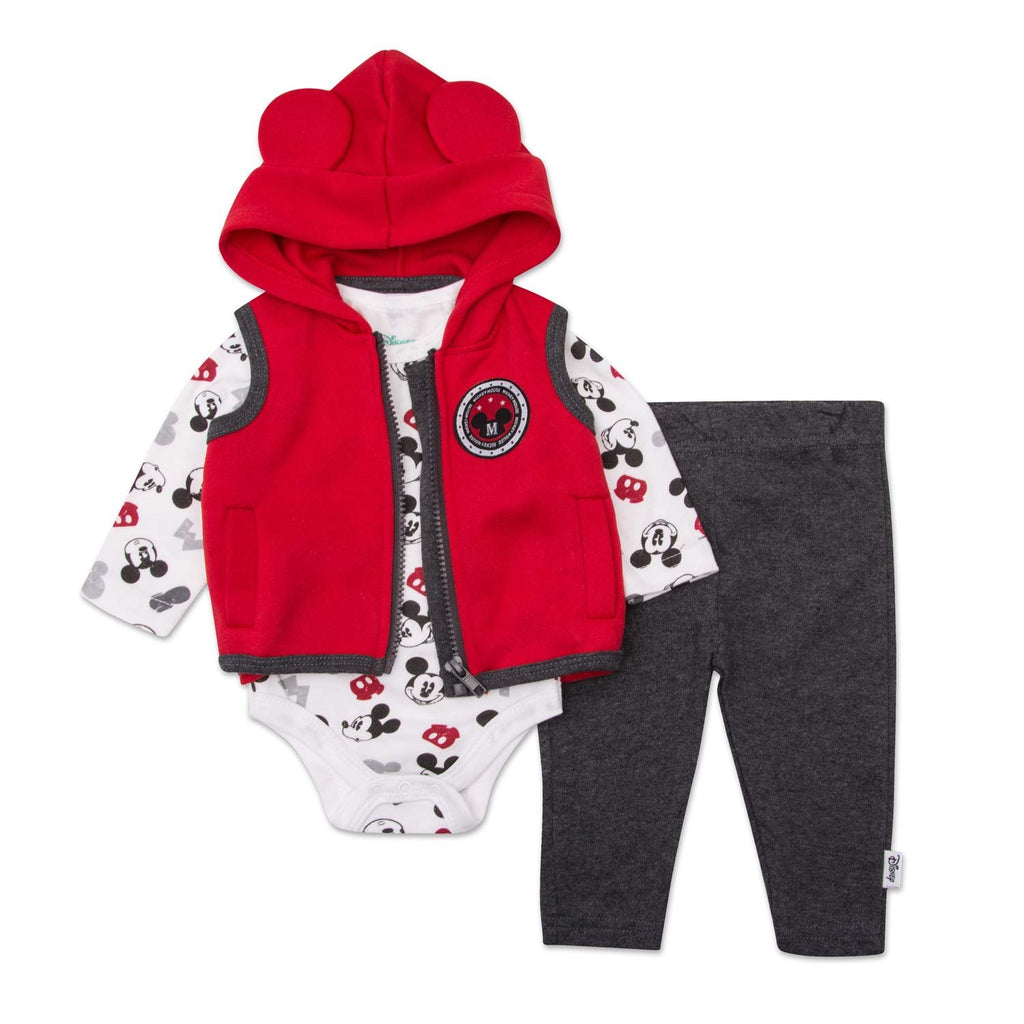 bdccc861e Newborn Boys Mickey Mouse Set - Disney Mickey Mouse 3 Peice Clothing S –  Haute.ly