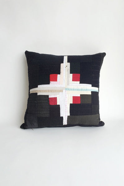 Hand Quilted Pillow by Luke Haynes