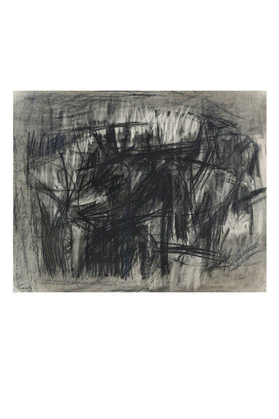 MICHAEL LOEW: Abstraction, 1959, No. 9
