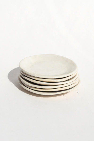 Small White Ceramic Dish