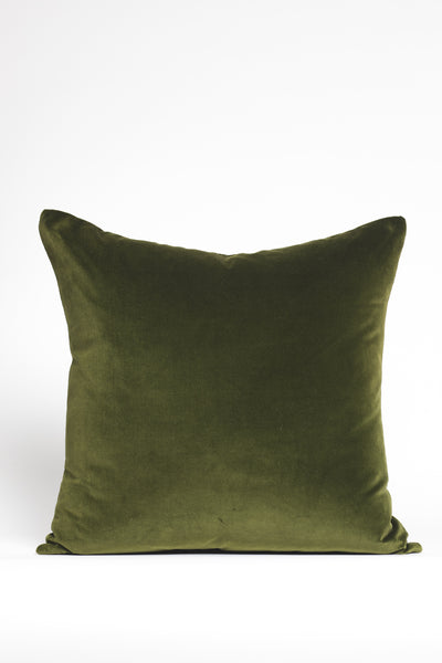 Green Velvet Pillows