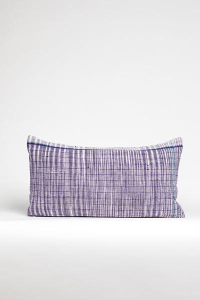 Oversized Purple Kidney Pillow