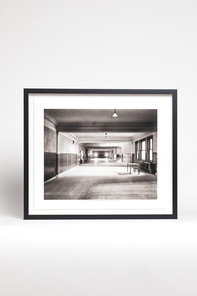 Detroit High School Framed Print