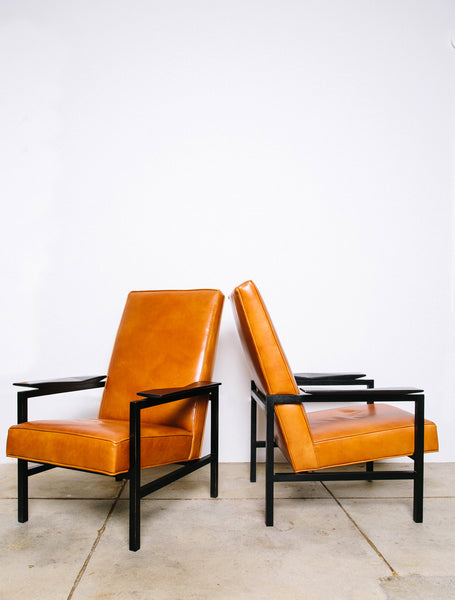French Modernist Armchairs