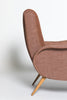 Pair of Vintage Marco Zanuso Style Lounge Chairs