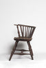 Vintage Primitive Wood Armchair