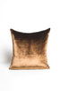 Bronze Slik Velvet Pillow