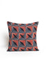 Diamond Printed Textile Pillow