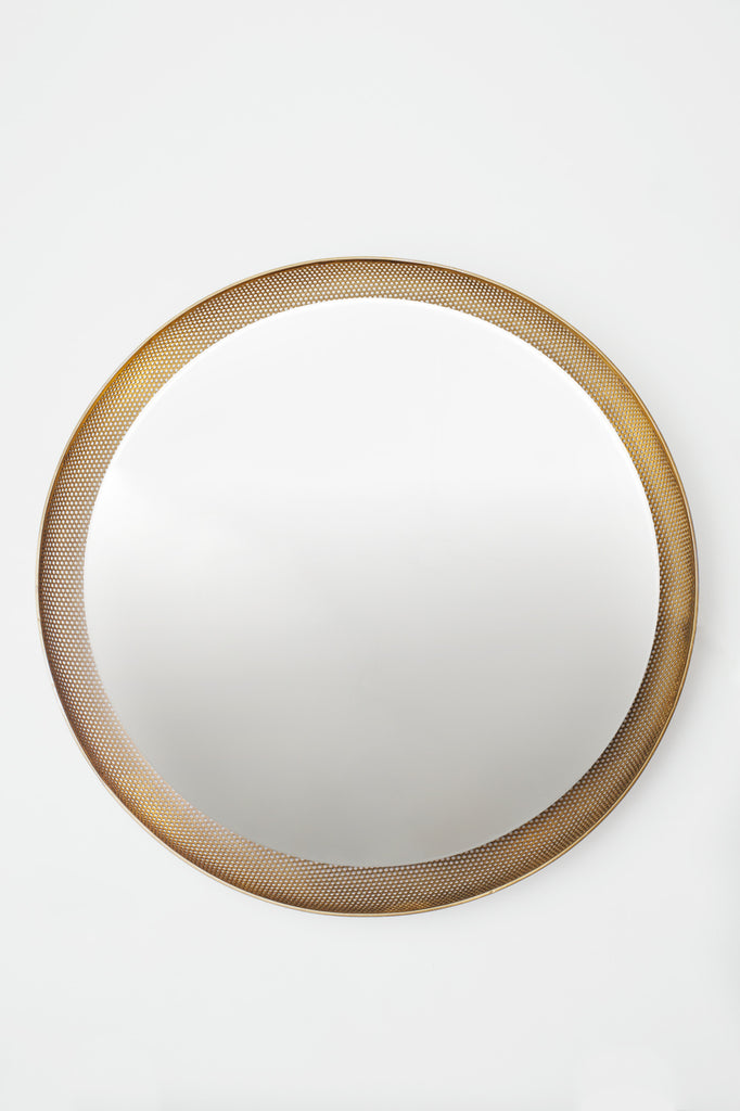 Custom Brass Back Lit Mirror