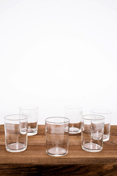Set of 6 Frisco Water Glasses