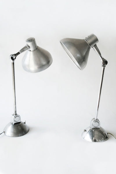 Pair of Jumo Modernist Desk Lamps
