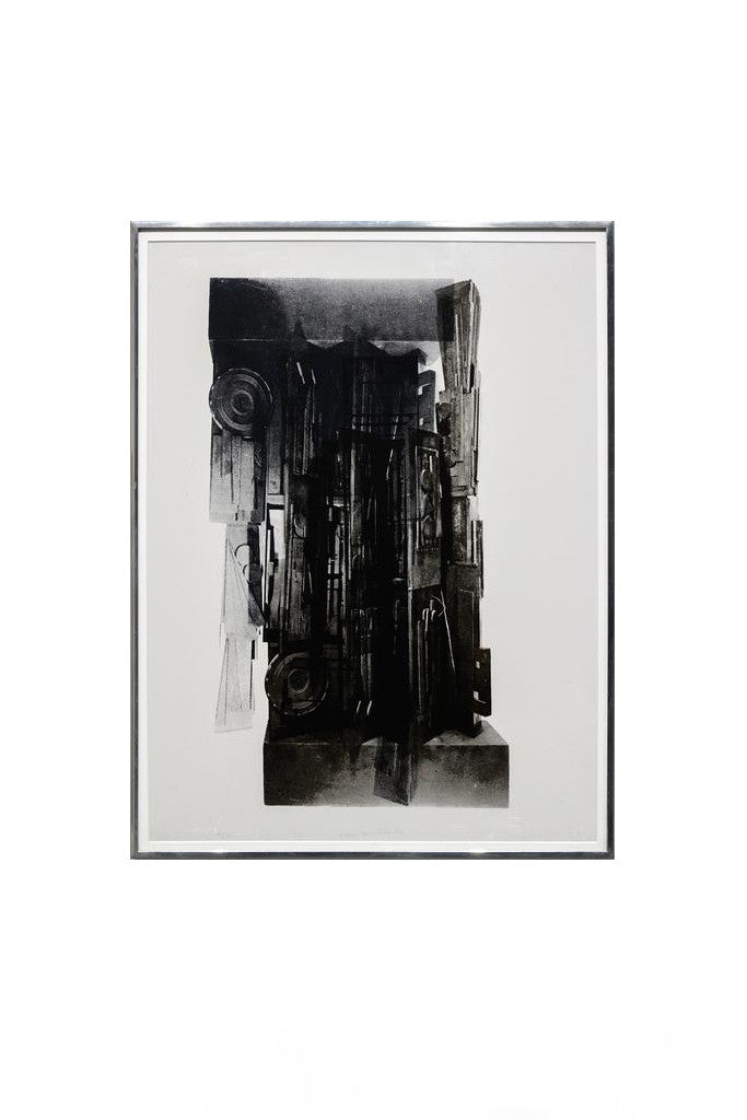 Louise Nevelson: Façade Suite 1