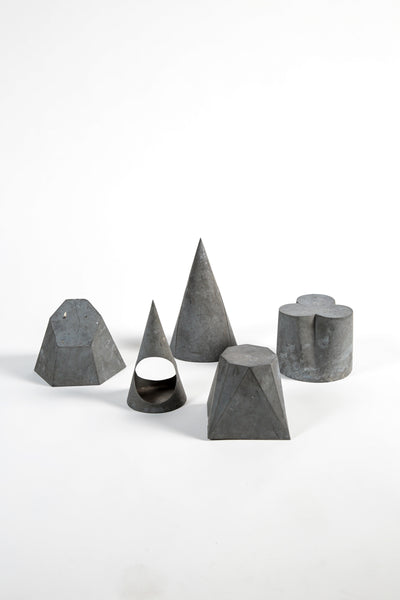 Galvanized Zinc Geometric Shapes