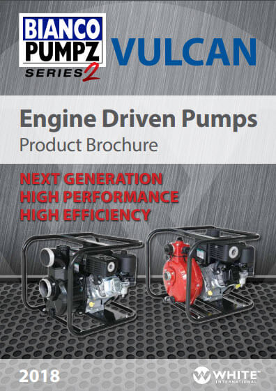 Bianco Pumpz Series 2 Vulcan Engine Driven Pumps Brochure