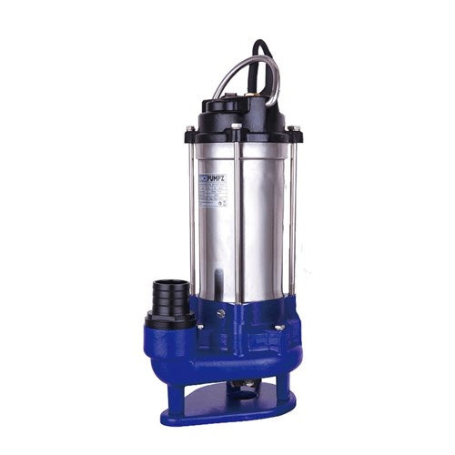 BIA-B120GMS2 MANUAL SUBMERSIBLE GRINDER PUMP FOR SEWAGE 283L/M 15M 1.5KW 240V