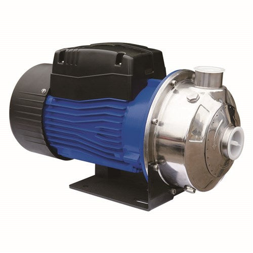 BIA-BLC70-055S2 STAINLESS STEEL CENTRIFUGAL PUMP CLEAN WATER 100L/MIN 29M 550W 240V