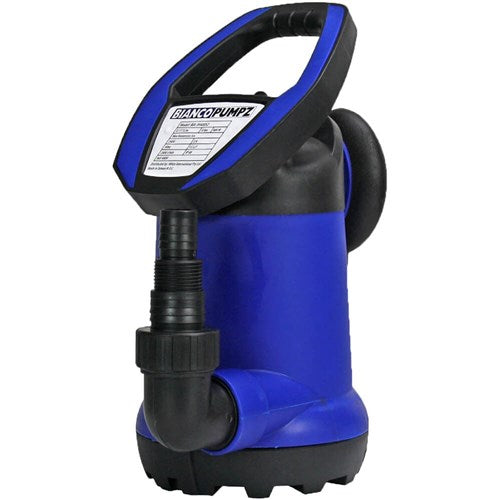 BIA-JH250GS2 PUMP SUBMERSIBLE POLY CLEAN WATER 100L/M 6M 0.25KW 240V