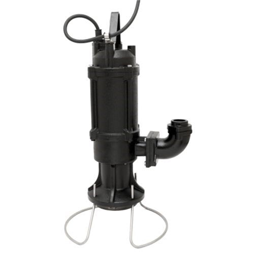 BIA-PDG150TA-WITH-FLOAT - PUMP SUBMERSIBLE SEWAGE WITH FLOAT 50L/MIN 50M 1100W 415V