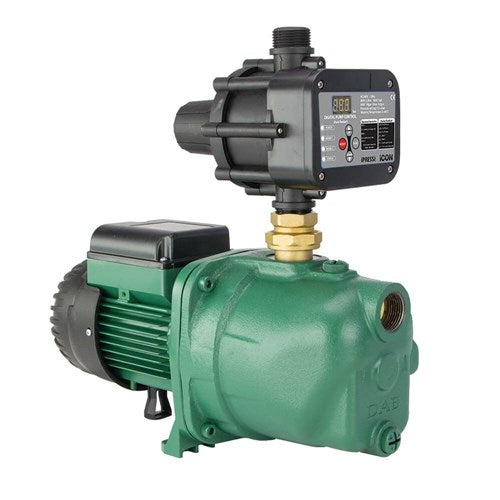 DAB-102MPCI - PUMP SURFACE MOUNTED JET WITH BUILT IN AUTOMATIC CONTROL 60L/MIN 53.8M 0.75K