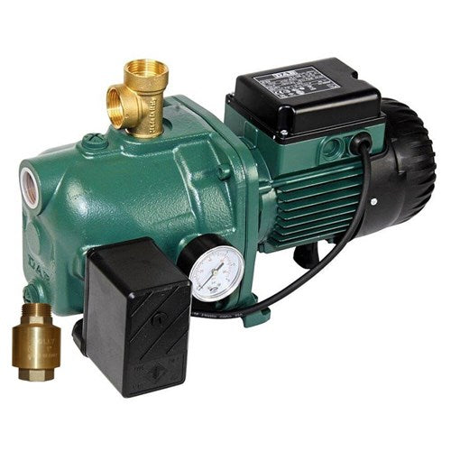DAB-102MP - PUMP SURFACE MOUNTED JET WITH PRESSURE SWITCH 60L/MIN 53.8M 0.75KW 240V