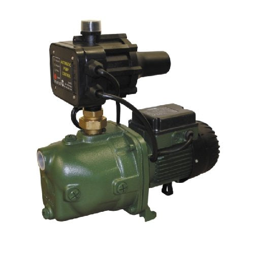DAB-132MPCX - PUMP SURFACE MOUNTED JET WITH BUILT IN AUTOMATIC CONTROL 80L/MIN 48M 1.0KW 2