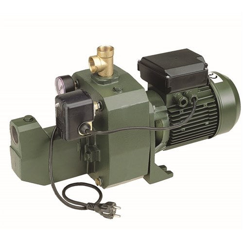 DAB-151MP - PUMP SURFACE MOUNTED CAST IRON WITH PRESSURE SWITCH 75L/MIN 61M 1.1KW 240V