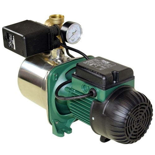 DAB-JINOX132MP - PUMP SURFACE MOUNTED JET WITH PRESSURE SWITCH 80L/MIN 48M 1.0KW 240V